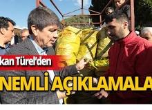 Başkan Türel 'Hal Yasası' ile ilgili açıklamalarda bulundu