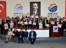 Kumluca'da üretici sorunları ve çözümler kurultayı yapıldı