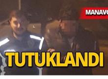 Manavgat'ta durdurulan otomobilde yakalandı!