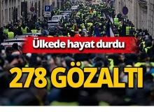O protesto devam ediyor: 278 kişi gözaltına alındı!
