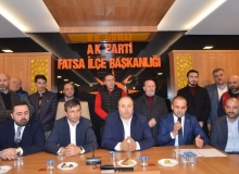 AK Parti Fatsa'da istişare toplantısı