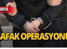 Alanya merkezli operasyon: 9 tutuklama!