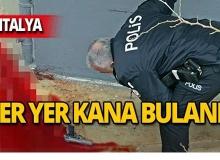 Antalya'da intihar etti!