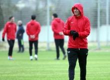 Antalyaspor'da Kayserispor hazırlıkları devam etti