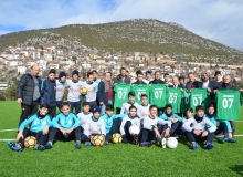 Cevizli Spor U 16 takımı Akseki'de kampa girdi