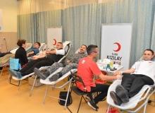 Cumhurbaşkanlığından kan bağışı kampanyasına destek