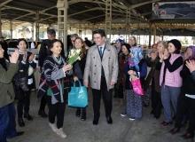 Döşemealtı'nda el emeği pazarı açıldı