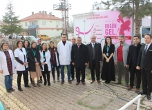Elazığ'da Serviks Kanseri taraması
