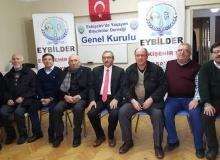 EYBİLDER'nin 3'üncü olağan kongresi yapıldı