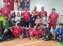 Kaymakamlığın voleybol turnuvasını köy takımları kazandı