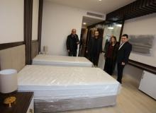 Kepez'in 'Hasta Yakınları Konukevi' gün sayıyor