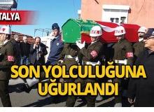 Kıbrıs gazisi askeri törenle defnedildi