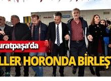 Muratpaşa'da 5 ton hamsi dağıtıldı!