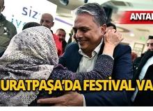 Muratpaşa'da her hafta bir festival!