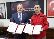 Pamukkale Belediyesi, AKUT'la protokol imzaladı