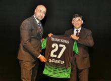Şehitkamil Belediyesi Tolunay Kafkas'ı ağırladı