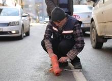 Siirt belediyesinden duba çalışması