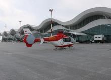 Sivas'ta Ambulans helikopteri hizmete girdi