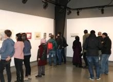'Sudan Sebepler' resim sergisi OSM'de açıldı