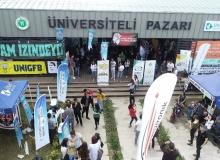 Üniversiteli Pazarını bir yılda 11 bin 250 kişi ziyaret etti