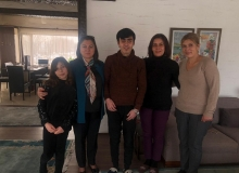 Vali Ünlü, Taşkınsu ailesini ziyaret etti