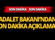 Adalet Bakanı Gül'den nöbetçi noter açıklaması!