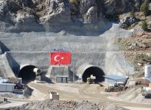 Alacabel Tünel inşaatı yeniden başladı