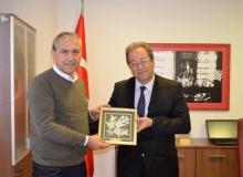 Abbas Güçlü Alanya HEP Üniversitesi'ni ziyaret etti