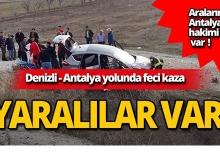 Antalya Bölge Adliye Mahkemesi Hakimi kaza geçirdi!