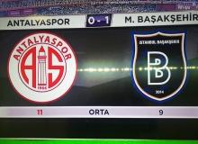 Antalyaspor evinde lider Başakşehir'e  mağlup oldu