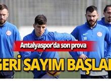 Antalyaspor'da Başakşehir için son prova