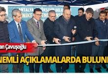 """Bakan Çavuşoğlu: """"Dövizdeki dalgalanmalar nedeniyle fırsatçılar fiyatı yükseltti"""""""