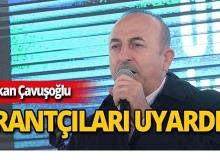 Bakan Çavuşoğlu'ndan gübre, ilaç ve tohum rantçılarına uyarı!