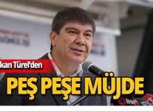 """Başkan Türel : """"50 bin çiftçiye elektrik bedava olacak"""""""