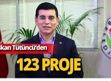 Başkan Tütüncü, 123 proje ile 2023 hedeflerini açıklayacak!