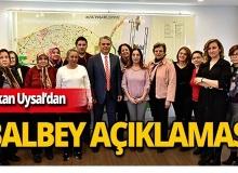 """Başkan Uysal: """"Balbey haklarını koruyacaktır"""""""