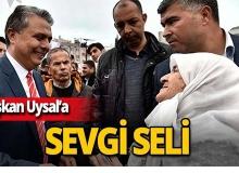Başkan Uysal mahalle sakinleriyle buluştu