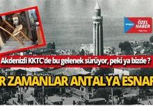 Bir zamanlar Antalya esnafı!