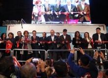 Doğanoğlu'nun seçim ofisi açıldı