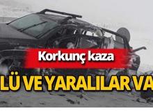 Feci kaza: Ölü ve yaralılar var!
