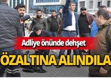 Gazeteciye adliye çıkışı silahlı saldırı!