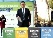 Kepez'den yeşile ve çevreye duyarlı proje