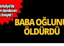 Antalya'da korkunç cinayet!