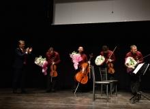 Türkan Şoray sahnesinde Borusan Quartet rüzgarı!