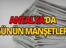 19 Mart 2019 Antalya'nın yerel gazete manşetleri