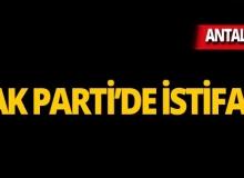AK Parti Korkuteli ilçe yönetimi istifa etti!