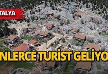 Antalya'da 800 yıllık köy turistlerin gözdesi!