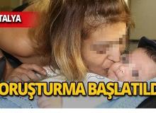Antalya'da bağımlı bebek için başsavcılık devreye girdi!