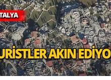 Antalya'da bu evler tarihe meydan okuyor