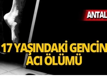 Antalya'da doğalgaz borusuna asılı halde bulundu!